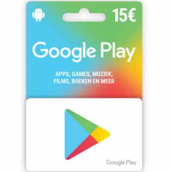 15 € E-carte Google Play