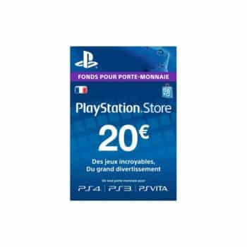 Carte PlayStation Network – 20 EURO PSN Code Je
